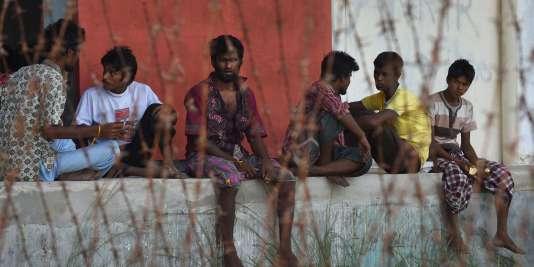 Des Rohingyas secourus en mer.