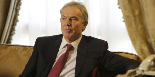 Tony Blair, le 6 août 2014.