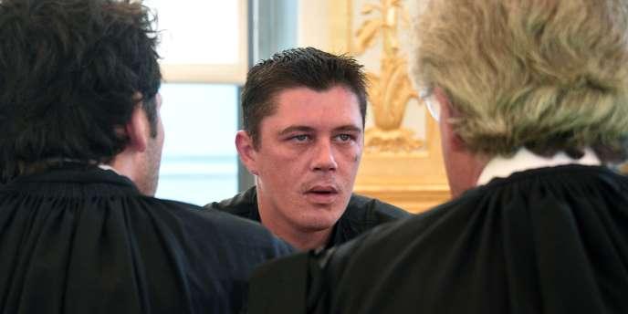 Daniel Legrand à la cour d'assises des mineurs de Rennes mercredi 27 mai.