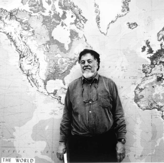 Le collecteur américain Alan Lomax.
