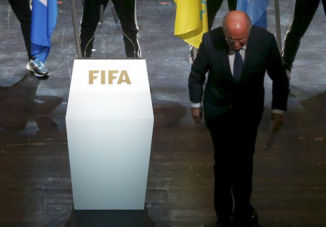 Le président de la FIFA Sepp Blatter lors de la cérémonie d'ouverture du 68e congrès de l'institution à Zurich, le 28 mai.