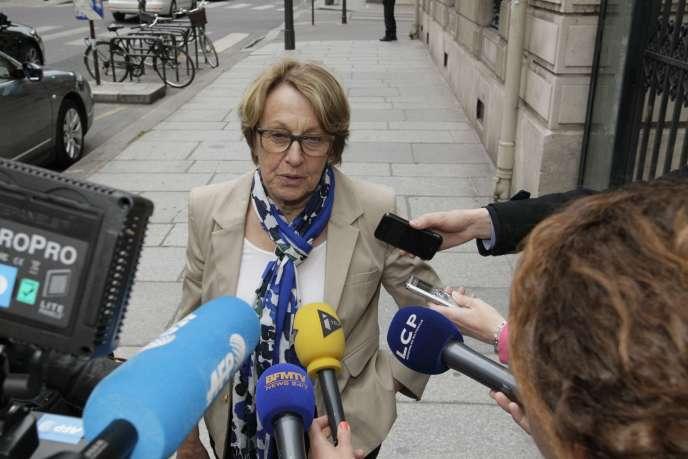 La ministre de la fonction publique Marylise Lebranchu le 28 mai.