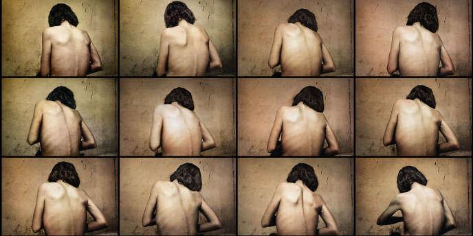 Extrait de la série réalisée en 2004 par le photographe Antoine d'Agata à Nuevo Laredo, au Mexique.