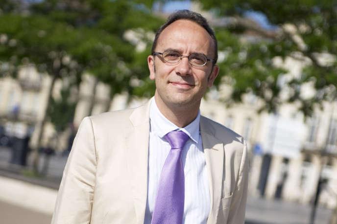 Antoine Godbert, directeur de l'Agence Erasmus+ France.