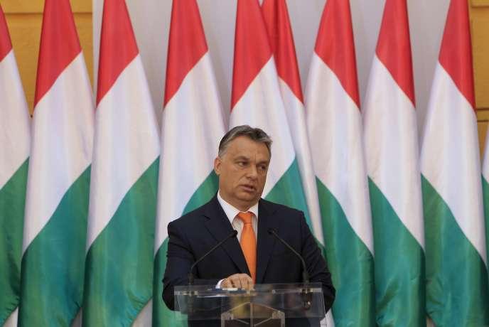 Le premier ministre hongrois Viktor Orban, le 29 mai à Budapest.