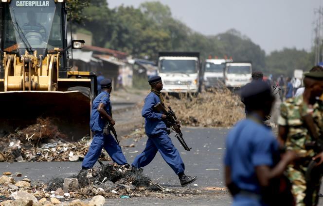 A Bujumbura, le 29 mai.