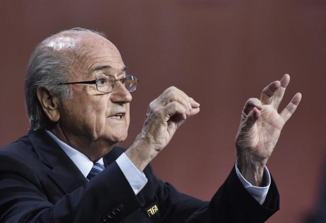 Joseph Blatter au congrès de de la FIFA le 29 mai à Zurich.