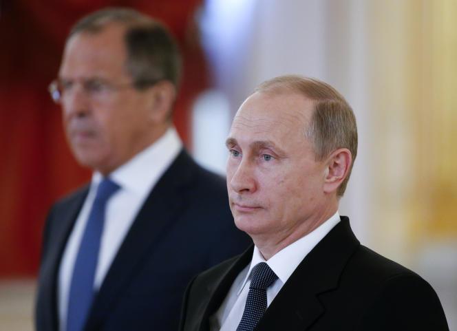 Vladimir Poutine le 28 mai.