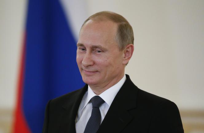 Vladimir Poutine à Moscou le 28 mai.