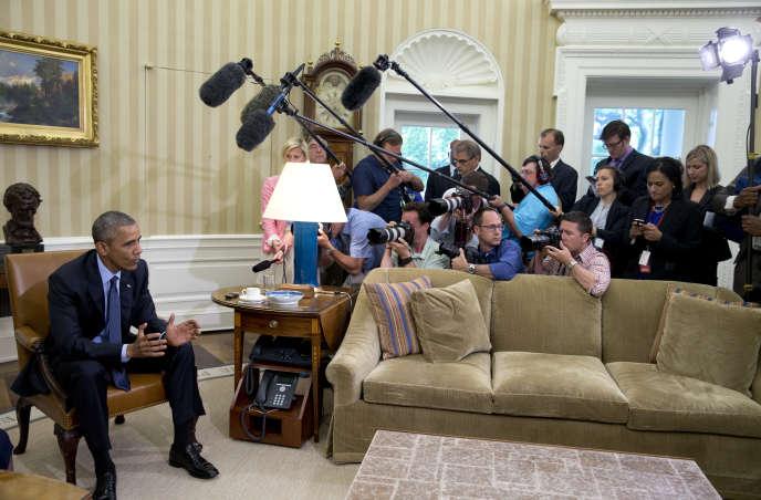 Barack Obama, le 29mai à la Maison Blanche, à Washington.