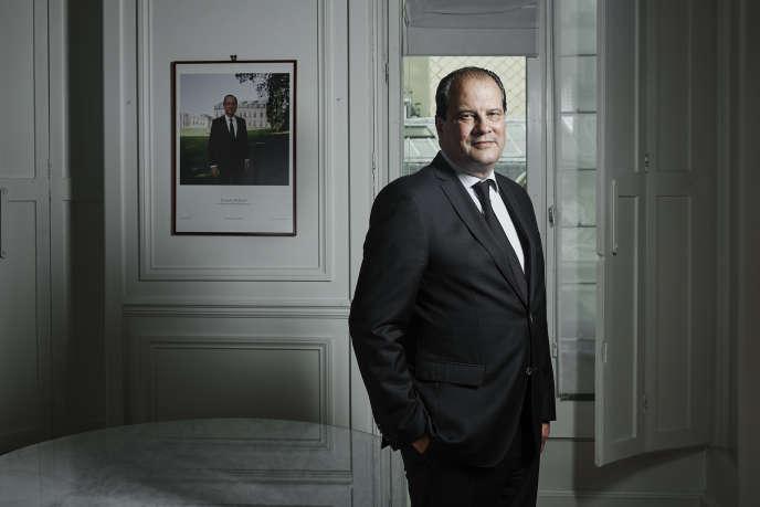 Jean-Christophe Cambadélis à Paris le 28 mai 2015.