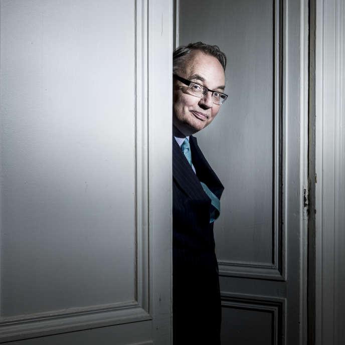 Jean-Louis Bourlanges, politologue et essayiste, à Paris, le 29 mai.
