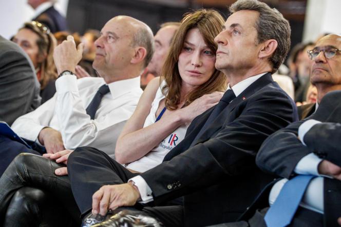 Nicolas Sarkozy au congrès pour la refondation de l'UMP samedi 30 mai.
