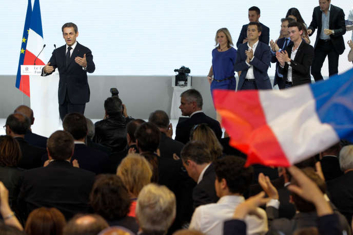 Nicolas Sarkozy a exhorté la droite à créer une