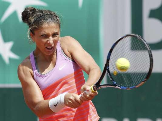 Sara Errani, le 30 mai 2015 à Roland-Garros.
