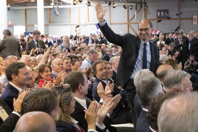 Eric Woerth lors d'un meeting des Républicains à Paris, le 30 mai 2015.
