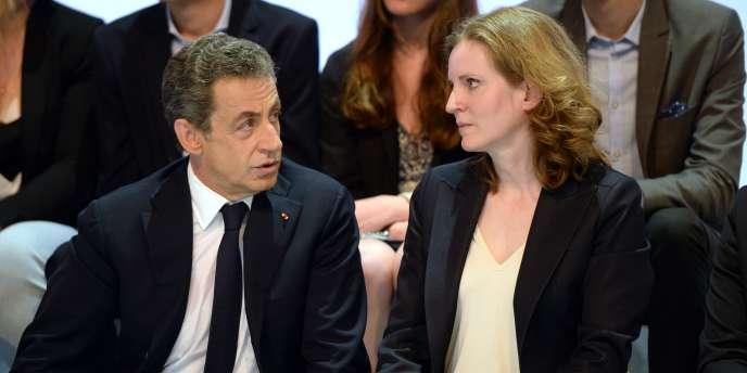 Nicolas Sarkozy et Nathalie Kosciusko-Morizet, le 30 mai.