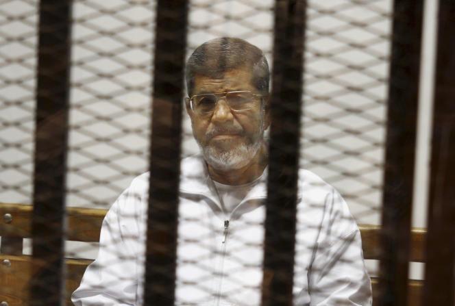 Mohammed Morsi en mai 2014.