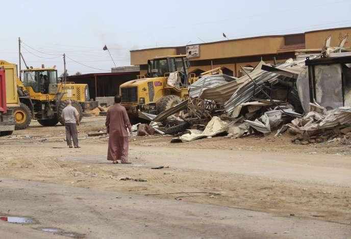Un attentat-suicide revendiqué par l'Etat islamique a fait cinq morts près de Misrata, en Libye, dimanche 31 mai.