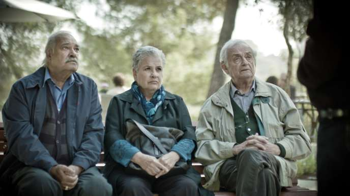 Ze'ev Revach, Aliza Rosen et Ilan Dar dans le film israélien et allemand de Sharon Maymon et Tal Granit,