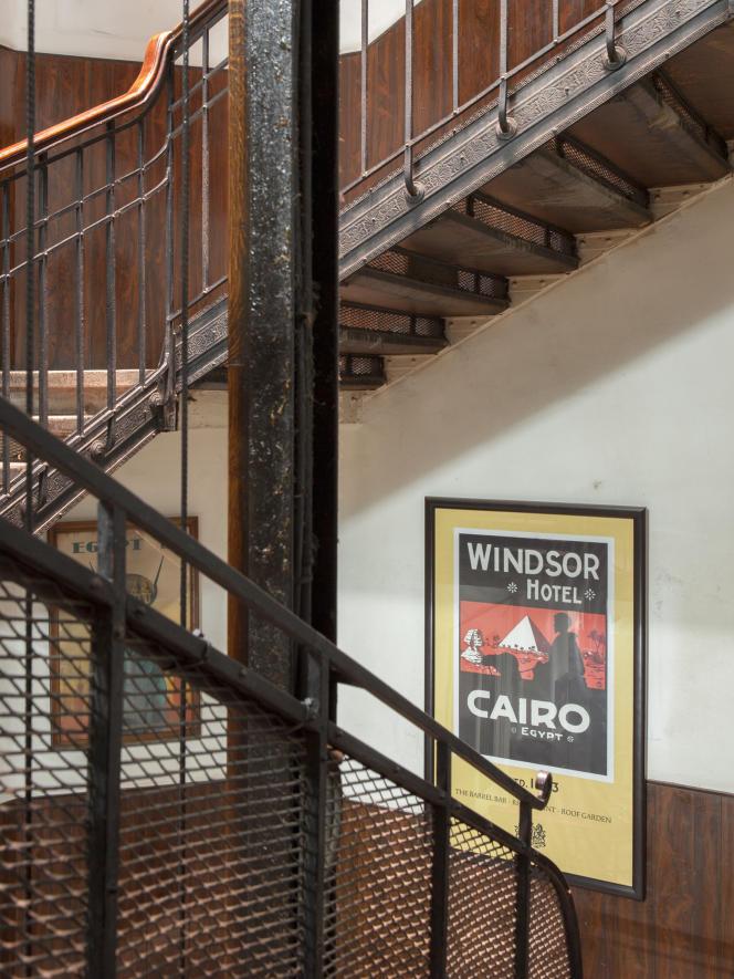 Au Windsor Hotel, tout est d'origine depuis sa construction à la fin du XIXe siècle, lorsqu'il servait de thermes à la famille royale d'Egypte.
