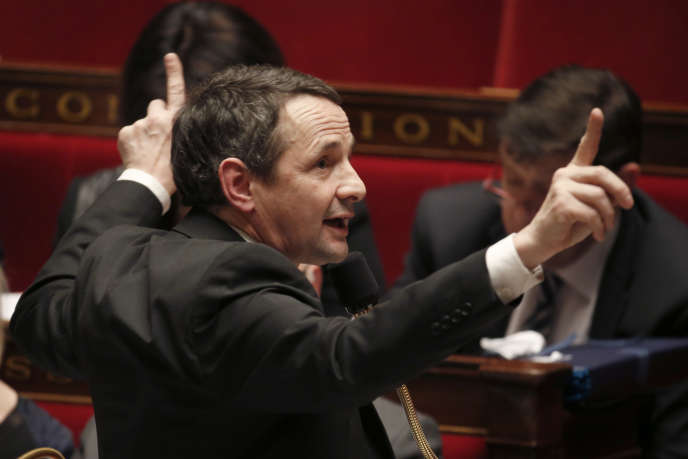 Thierry Mandon, à l'Assemblée nationale, le 24 mars.