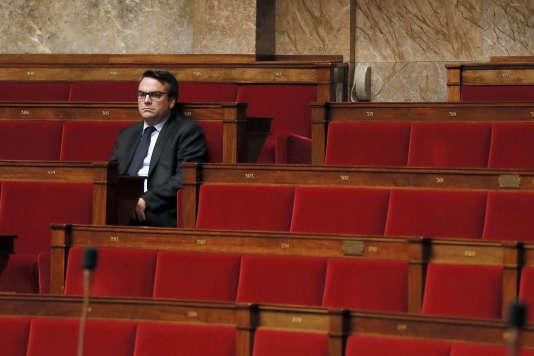 Le député Thomas Thévenoud à l'Assemblée nationale, le 28 novembre 2014.