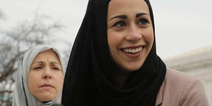 La jeune musulmane Samantha Elauf a remporté son procès contre le groupe Abercrombie.