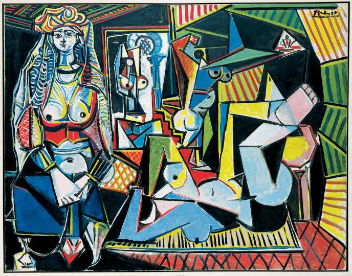 La version 0 des « Femmes d'Alger » (1955) de Picasso s'est vendue plus de 164millions d'euros, le 11mai.