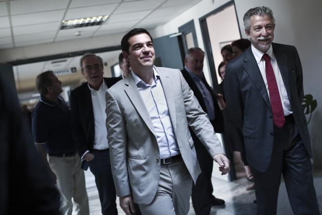 Le premier ministre grec Alexis Tsipras mardi 2 juin à Athènes.