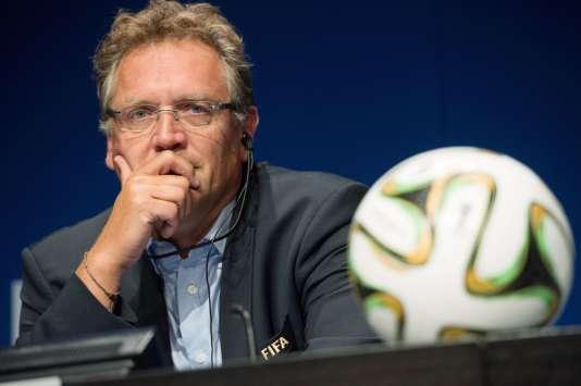 Le secrétaire général de la FIFA Jérôme Valcke, en 2014.