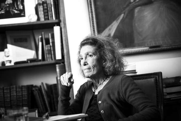 Mireille Delmas-Marty, à Paris, en février.