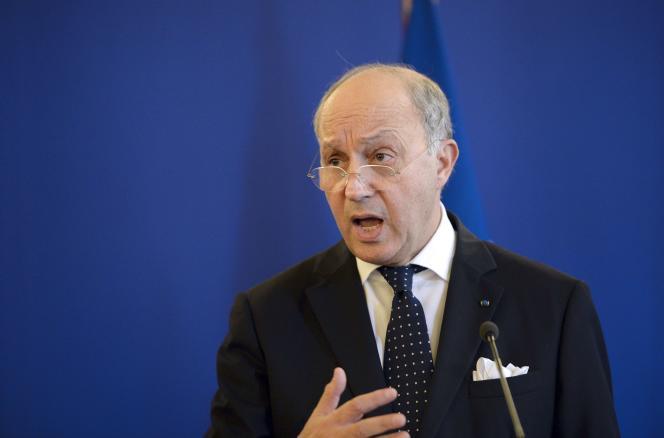 Laurent Fabius, le 2 juin à Paris.