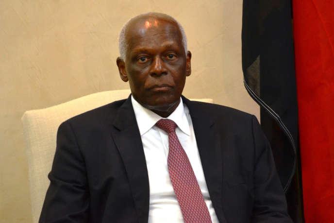Eduardo dos Santos, le président de l'Angola.