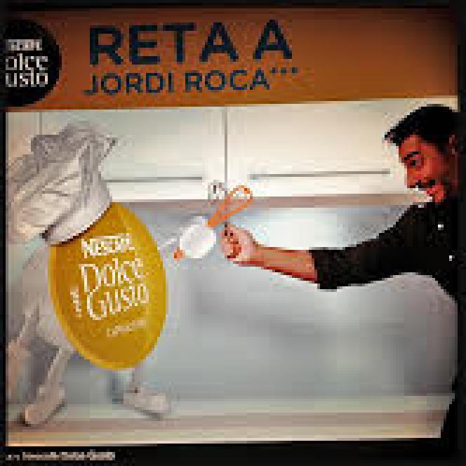 Le pâtissier des trois frères Roca, a signé un contrat avec Nescafé (Nestlé), en 2013, au moment de sa première victoire au 50 Best.