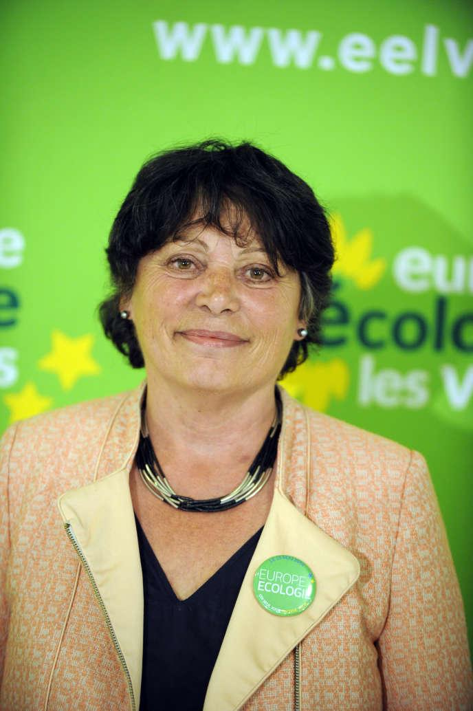 La députée européenne Michèle Rivasi, membre d'Europe Écologie les verts, en 2014