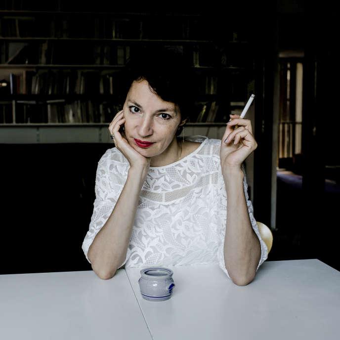 Jeanne Balibar, à Paris en juin 2014.