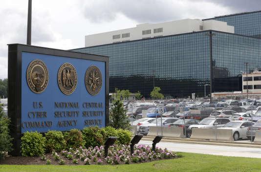 Le siège de la NSA à Fort Meade.