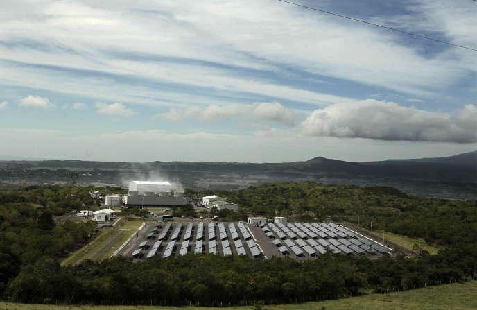 La ferme solaire Miravalles, au Costa Rica.
