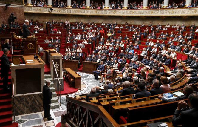 A l'Assemblée nationale le 3 juin.