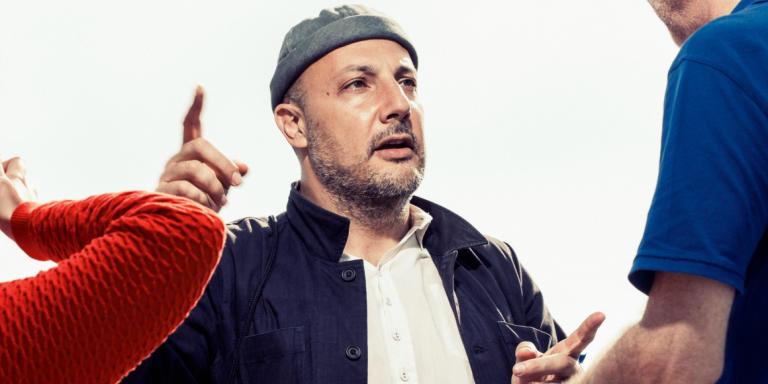Stefan Simchowitz à la Biennale d'art contemporain de Venise.