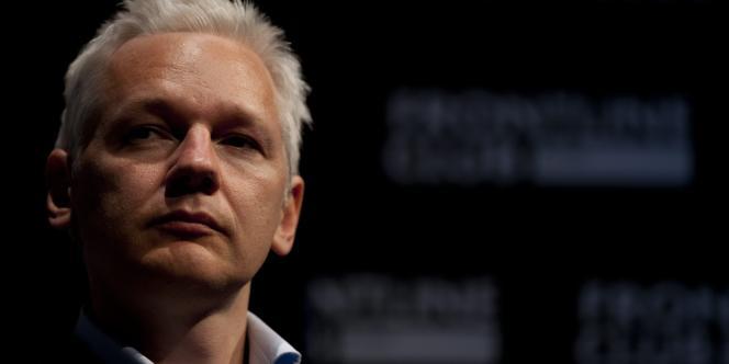 Julien Assange, cofondateur de WikiLeaks, le 2 juillet 2011 à Londres.