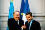 Le 27 octobre 2010 à Paris, Nicolas Sarkozy et le président Noursoultan Nazarbaïev signent un accord pour un très gros contrat : la vente de 45 hélicoptères militaires Eurocopter au Kazakhstan.