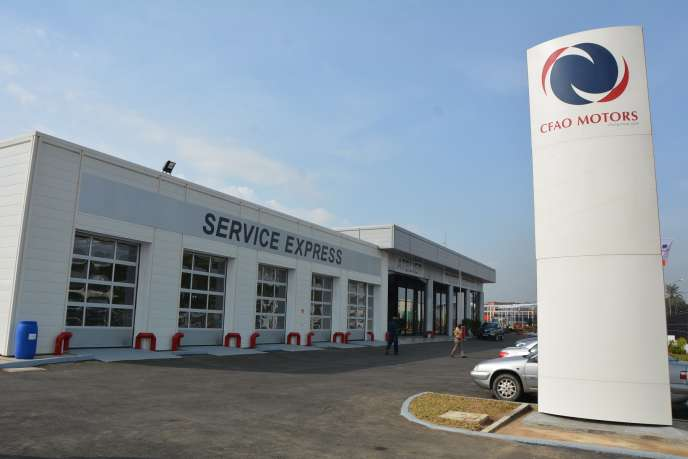 La grande concession CFAO-Motors à Abidjan, inaugurée le 1er juin.