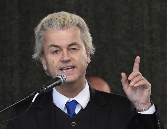 Geert Wilders, dirigeant du PVV, propose un programme de «désislamisation» radical.