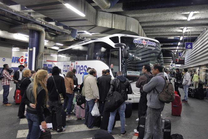 Le ministère de l'économie envisage en 2016 un marché total du car de cinq millions de passagers.