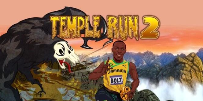 Usain Bolt est le personnage payant le plus téléchargé sur «Temple Run 2», un jeu qui a pourtant plus à voir avec Indiana Jones qu'avec l'athlétisme.
