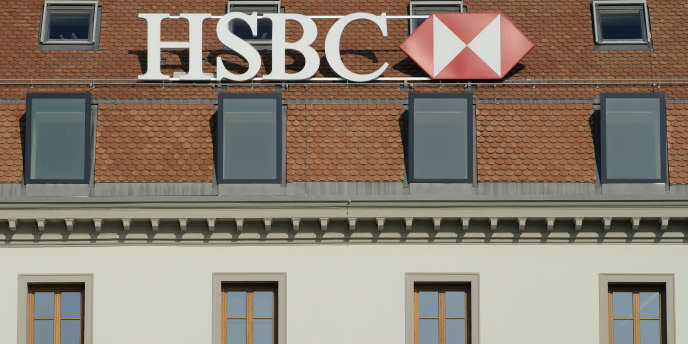 La filiale genevoise de HSBC Private Bank, en février 2015.