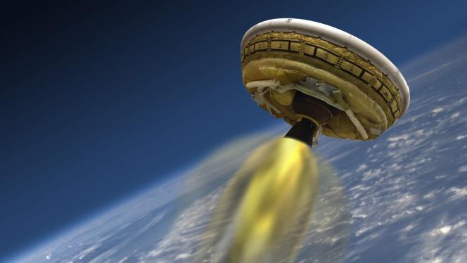 Le parachute géant est appelé « Low-Density Supersonic Decelerator », ou «LDSD».