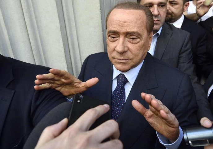 Silvio Berlusconi, à Milan, le 2 mai.